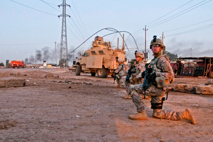 Maneuver and Mobility: Military Police secure routes in Baghdad
